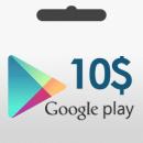 گیفت کارت 10 دلاری گوگل