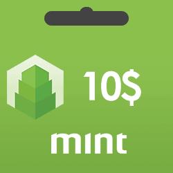 خرید گیفت کارت 10 دلاری Mint و دریافت کد بصورت آنی و آنلاین