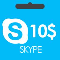 گیفت کارت 10 دلاری اسکایپ Skype