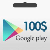 گیفت کارت 100 دلاری گوگل