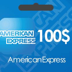 خرید گیفت کارت 100 دلاری American Express و دریافت کد بصورت آنی و آنلاین