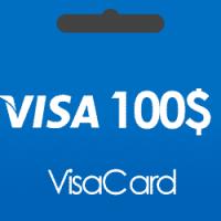 خرید گیفت کارت 100 دلاری ویزا کارت و دریافت کد بصورت آنی و آنلاین