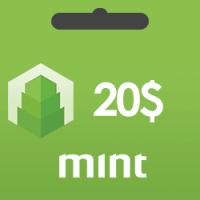 خرید گیفت کارت 20 دلاری Mint و دریافت کد بصورت آنی و آنلاین
