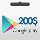گیفت کارت 200 دلاری گوگل
