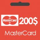 خرید گیفت کارت 200 دلاری مستر کارت و دریافت کد بصورت آنی و آنلاین