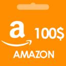 گیفت کارت 100 دلاری آمازون AMAZON