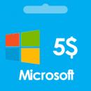 گیفت کارت مایکروسافت ماکروسافت 5 دلاری