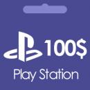 گیفت کارت 100 دلاری پلی استیشن Play Station