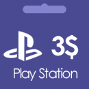 گیفت کارت 3 دلاری پلی استیشن Play Station