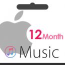اکانت اپل موزیک نامحدود 12 ماهه