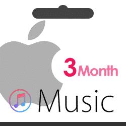 اکانت اپل موزیک نامحدود 3 ماهه