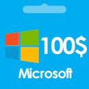 گیفت کارت مایکروسافت ماکروسافت 100 دلاری