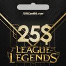 خرید گیفت کارت | League Of Legends گیفت کارت 25 دلاری