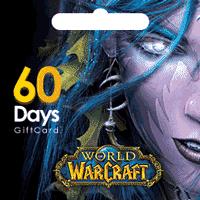 خرید گیفت کارت WarCraft | گیفت کارت 60 روزه بازی وارکرافت