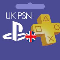 خرید شارژ PSN انگلیس