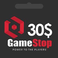 گیفت کارت 30 دلاری گیم استاپ | گیم اسپات | GameStop گیفت کارت