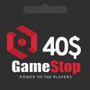 گیفت کارت 40 دلاری گیم استاپ | گیم اسپات | GameStop گیفت کارت