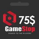 گیفت کارت 75 دلاری گیم استاپ | گیم اسپات | GameStop گیفت کارت