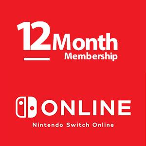 گیفت کارت نینتندو سوییچ 12 ماهه | اشتراک آنلاین نینتندو Nintendo Switch Gift